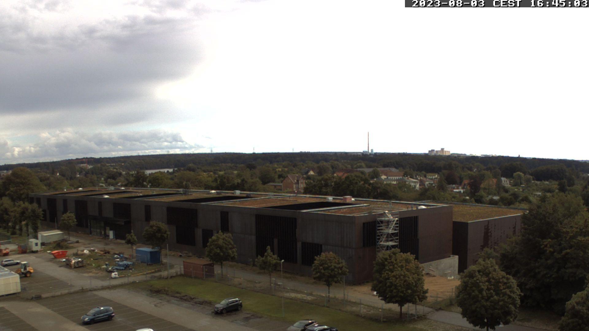 Hier erscheint in Kürze das aktuelle Webcam-Bild von der Baustelle Depots und Werkstätten in Schwerin an der Johannes-Stelling-Straße.